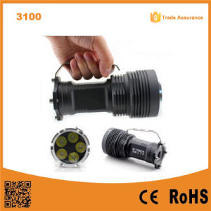 Lumifire 3100 Super Power 5PCS Xml-T6 LED 5000 Lumen Flashlight LED pictures & photos