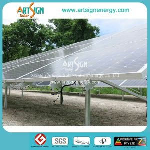 Hot Dipped Galvanized Steel Solar Mounting System for Solar Power Plant Project as-GS01 pictures & photos