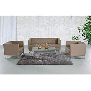 Excellent Modern Sectional Barcelona Furniture Living Room Sofa Set (FS-641S) pictures & photos
