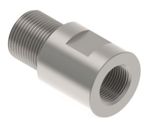 Precision OEM Stainless Steel Threaded Adapter, Thread Adapter Manufacturer pictures & photos