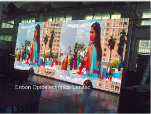Ultra Thin Aluminum Full Color Factory Rental LED Cabinet with Light Weight video Display pictures & photos