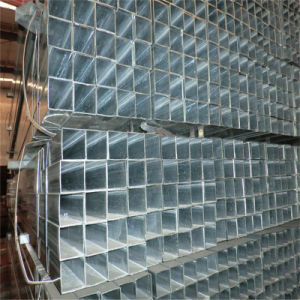 (40X40mm) Square Pre Galvanized Steel Tube (use for shell frame) pictures & photos