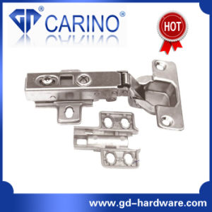 Slide on Rebounding Touch to Open Furniture Cabinet Hinges (B3) pictures & photos