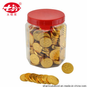 Gold Coin Chocolate in Bottle 200PCS pictures & photos