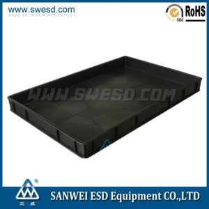 3W-9805113-2 Conductive Tray ESD Tray Anti-Static Tray ESD Box Conductive Anti-Static Box pictures & photos