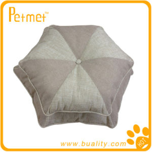 Patched Pet Cushion Hexagon (PT28140)