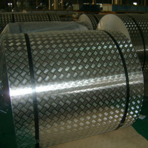 Anti-Slippy Aluminum Checkered Plate Tread Plate Floor Plate One Bar, Five Bar pictures & photos