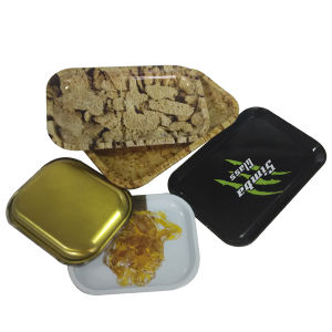 Packing Plastic Plate Rolling Tray for Rolling Paper Smoking pictures & photos