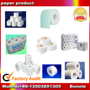 Toilet Paper Machine From Virgin Pulp, Wheat Straw Pulp pictures & photos