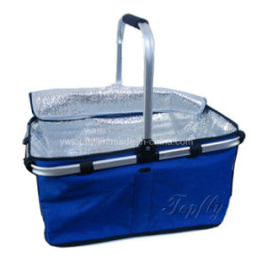 Single Handle Outdoor Camping Food Fresh Keeping Basket pictures & photos