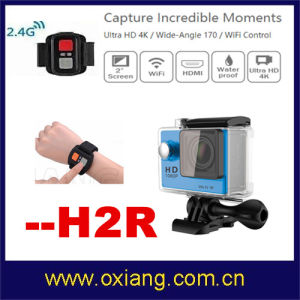 Wholesale China Factory Wide-Angle Fish-Eye Len 170 Degree Waterproof 30m Ultraslim 4k Action Sport Camera (OX-H9) pictures & photos