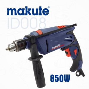 Makute 850W 13mm Power Tools Electric Hammer Impact Drill (ID008) pictures & photos