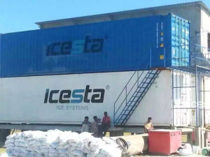 Containerized Compact Design Energy and Cost Saving Block Ice Machine Ice Maker for Block Ice 5ton/24h pictures & photos