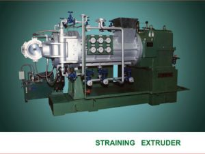 PVC Straining Extruder with Double Filter pictures & photos