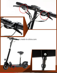 350W Brushless Motored Foldable Aluminum Electric Scooter Et-Es28 pictures & photos
