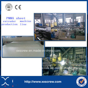 ABS/PMMA/PC/PS Sheet Production Line Plastic Extruder pictures & photos
