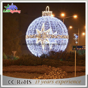 Outdoor LED Light Christmas Ball Decoration Light Holiday LED Motif Light pictures & photos