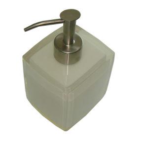 Hotel Bathroom White Resin Soap Dispenser pictures & photos