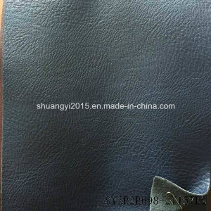 Classical Embossed Synthetic PU Leather for Shoes pictures & photos