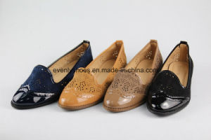 New Style Flat Casual Lady Shoes with Holy Upper pictures & photos