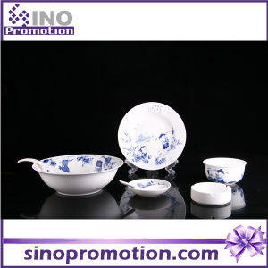 Porcelain Dinner Set Blue and White Kitchenware pictures & photos