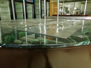 Marble Round Type Salad Refrigerated Bar pictures & photos