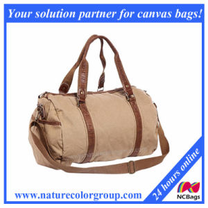 Durable Canvas Small Travel Duffel Bag pictures & photos