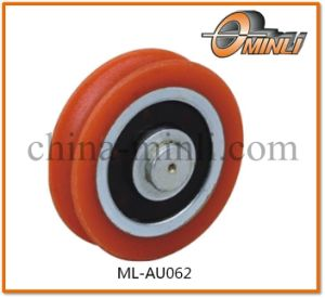 Small Plastic Nylon Pulley with Bearing for Window and Door (ML-AU062) pictures & photos