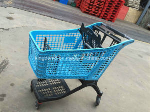 All Plastic Supermarket Shopping Trolley (JT-EP04) pictures & photos