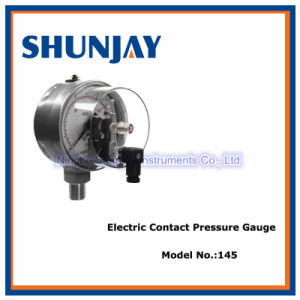 Easy Assembly Electric Contact Pressure Gauge
