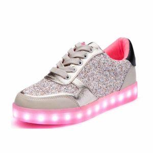 Wholesale Flash LED Light up Shoes LED Shoes for Dance pictures & photos