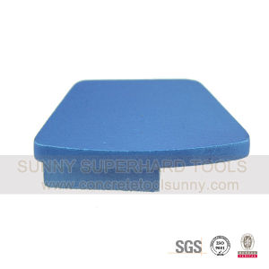 Bar Segment Diamond Trapezoid Grinding Plate for Concrete Stone pictures & photos