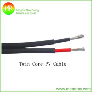 2 Cores Photovoltaic Cable PVC Insulated Cables pictures & photos