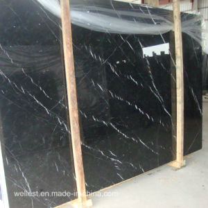 Nero Marquina/Black Marquina Marble Tiles Marble Slabs pictures & photos