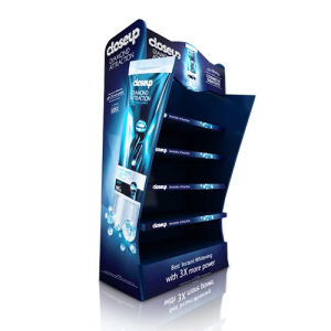 Advertising Full Color Cardboard Display Stand, Pop Cardboard Floors pictures & photos