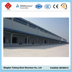 Low Cost Light Steel Prefabricated Warehouse pictures & photos