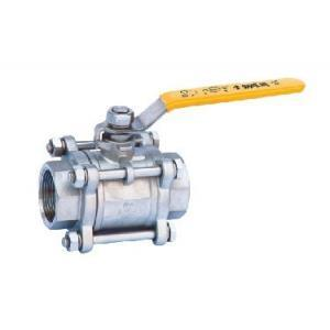 3PC Stainless Steel Flanged End Ball Valve pictures & photos
