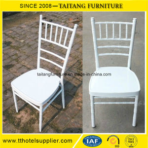 Wholesale White Aluminum Hotel Chiavari Chair pictures & photos
