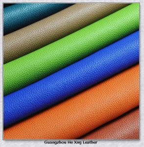 PVC Synthetic Leather for Bag, Furniture, Wallet pictures & photos