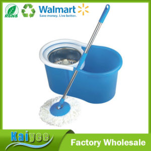 Plastic Metal Cleaning Bucket Small Double Mop with Wringer pictures & photos