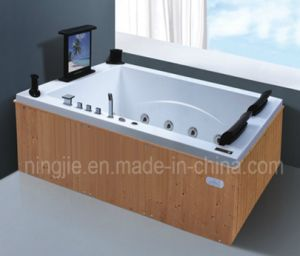 Rectangle European Sytle Bubble Bath Massage Bathtub Nj-3058 pictures & photos