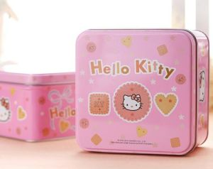 Wholesale Cookie and Candy Storage Metal Food Tin Boxes pictures & photos