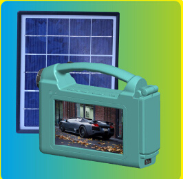 Yingli Simple and Portable Solar TV (SZYL-STV-709) pictures & photos