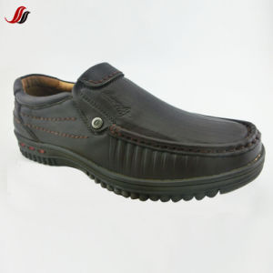 High Quality Men′s Loafer Shoes Casual Leather Shoes (FMF15) pictures & photos