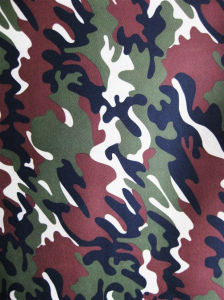 Fy-19 Polyester 600d Oxford Printing Camouflage Fabric pictures & photos
