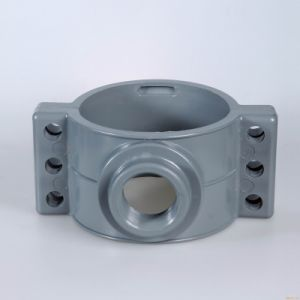 UPVC/CPVC Saddle Clamp Plastic Fittings Pressure Pipe Fittings pictures & photos