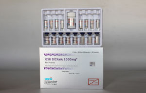 Gsh Doxma 3000mg Glutathione Injection for Skin Care Whitening pictures & photos