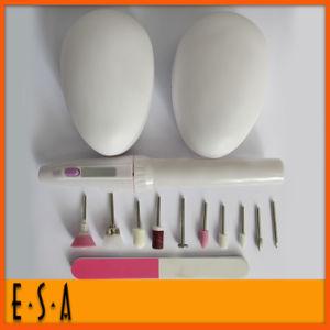 Professional Electric Manicure Pedicure Set, Cheap Girls Manicure Pedicure Set with 11 Attachments T330028 pictures & photos