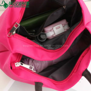 Lovely Cute Fancy Trendy Polyester Zipper Ladies Tote Hand Bags Carrier pictures & photos