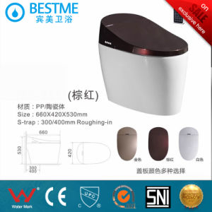 New Technology Colorful Cover Automatic Wc Toilet pictures & photos